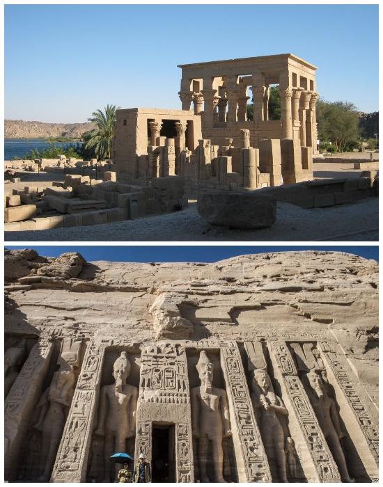 Храм Изиды перенесли на остров Агилкия (Египет).