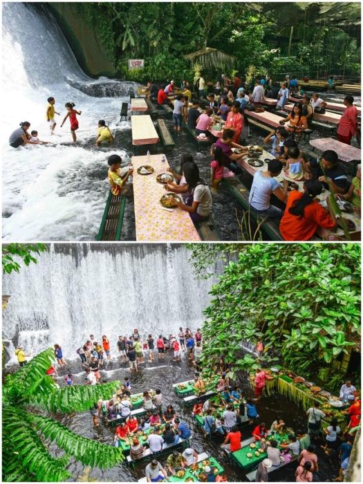 Вода как магнитом притягивает и взрослых, и детей. | Фото: thefoodjoy.wordpress.com/ thepinoytraveler.com.