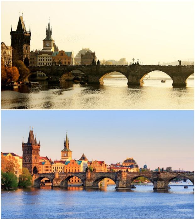 Вот уже 600 лет Карлов мост соединяет берега реки Влтавы и является настоящей архитектурной жемчужиной Чехии.