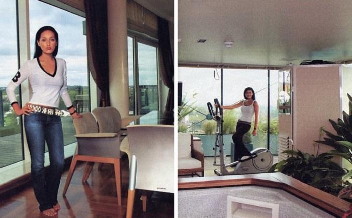 Большие панорамные окна были самой большой радостью и гордостью Алсу. | Фото: vk.com.