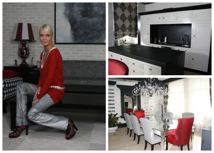 Интерьер кухни в московской квартире семьи Ионовых-Чистяковых.