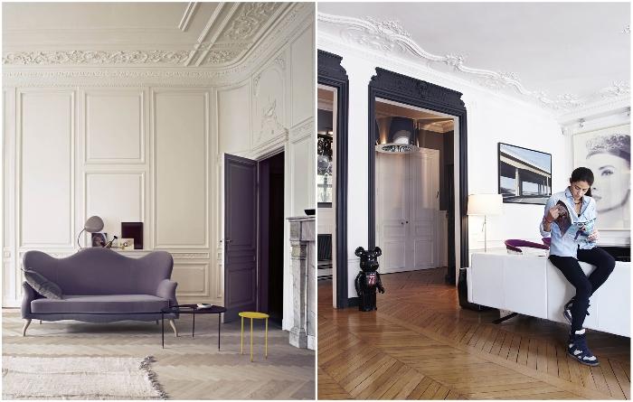 Ненавязчивый декор из гипса на потолке украсит любой интерьер. | Фото: roomplan.ru.