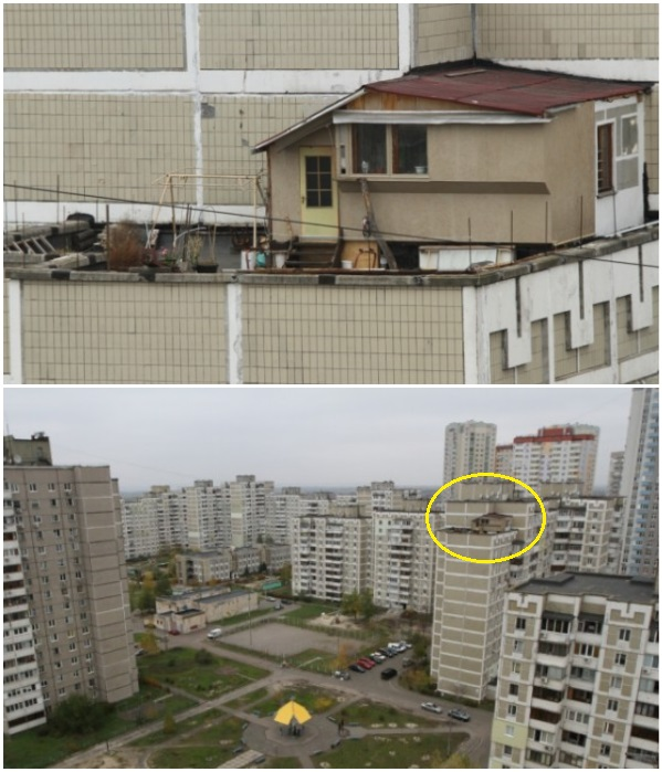 За такое самоуправство киевлянину выписан штраф и выдано предписание на демонтаж построек и огородных грядок.   Фото: news.bigmir.net.