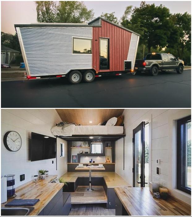 GoSun Dream – автономный крошечный дом на колесах от известной компании GoSun Inc.