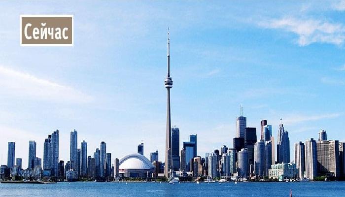 Завораживающий современный вид Торонто.