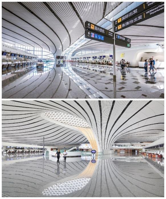 Рейсы в Daxing International Airport будет обслуживать «Аэрофлот» (Пекин, Китай). | Фото: mymodernmet.com.