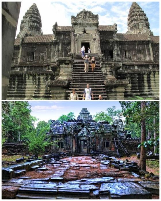 Храмовый комплекс Ангкор-Ват – самая значимая достопримечательность Камбоджа. | Фото: vsviti.com.ua.