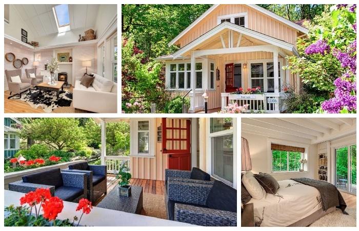 Такой маленький домик станет идеальным местом для отдыха всей семьи (коттедж Kvale Hytte, США). | Фото: youtube.com.