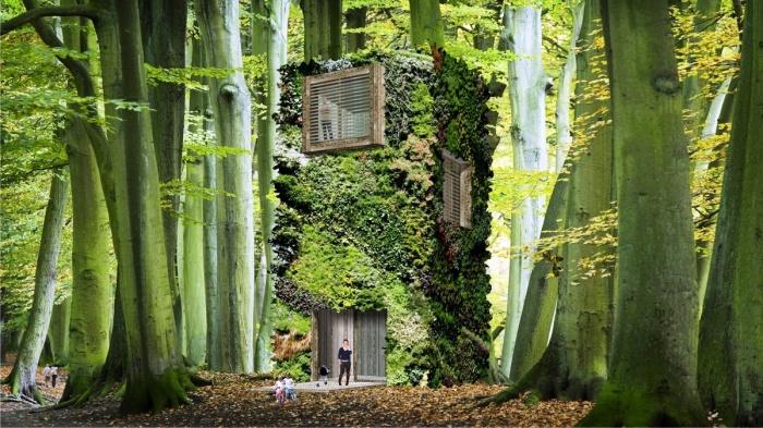 Фонд OAS1S разработал концеп эко-жилья в городских парках мегаполисов и на территории природных зон (концепт фонда OAS1S ™). | Фото: golbis.com.