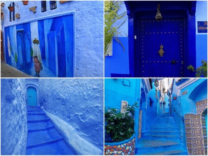 Умопомрачительные оттенки синего, позволяющие городу сливаться с небом, в былые времена извлекали из растения вайда.