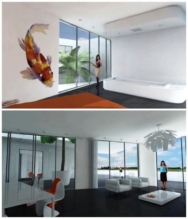 Комфортабельные и просторные апартаменты жилого комплекса на воде (NL The Citadel, Голландия).