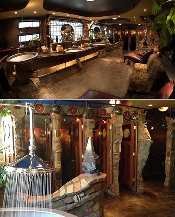 Общественный туалет, который больше похож на средневековый роскошный замок (Миннеаполис, США). | Фото: musthaveforyou.mediasole.ru.