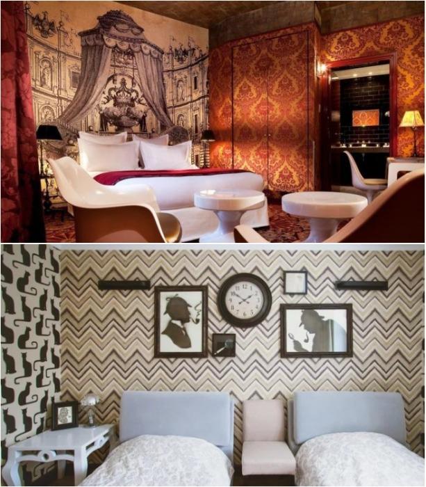Каждый номер этого отеля — литературное произведение (бутик-отель «Библиотека» в Вологде). | Фото: visitvologda.ru.