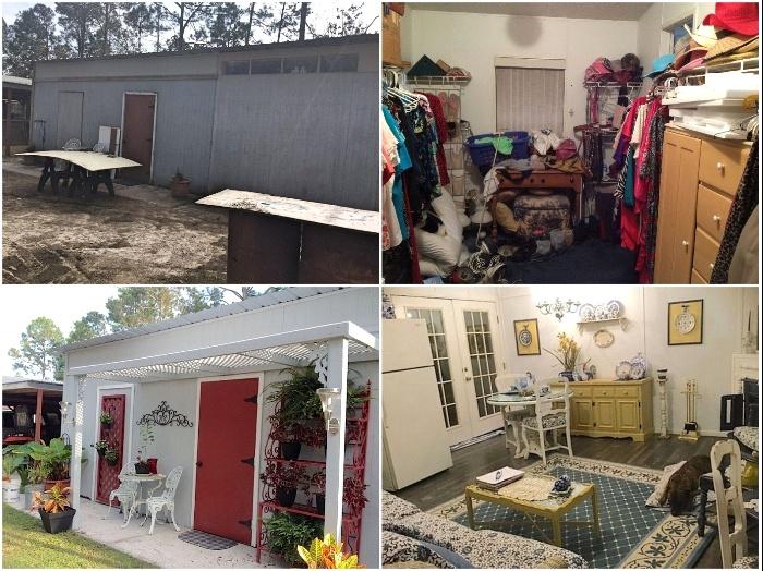 Американские супруги превратили заброшенный сарай в роскошный загородный дом. | Фото: ladymega.ru/ humoras.net, © Debbi W.