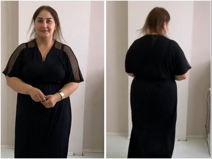 Эта женщина обратилась за помощью в один из салонов красоты «Shafa studio and makeup school» (Баку). | Фото: youtube.com/ © Vasily Шевченко.