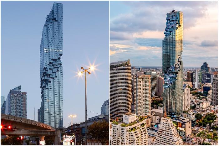 Второе по высоте здание Таиланда MahaNakhon («Великий Мегаполис»). | Фото: interior.ru-best.com/ designhistorytheory.com.