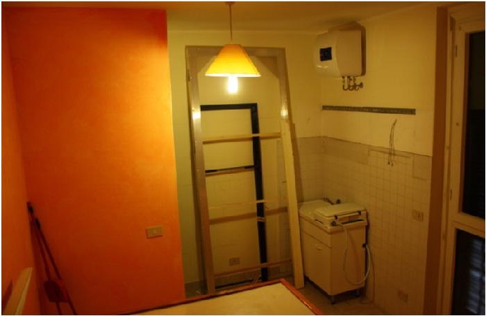 Вот такая комната досталась Сильване от прежних хозяев.