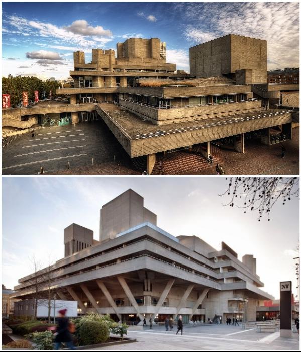 В 1994 г. Королевский национальный театр был внесен в Список зданий, представляющих особую архитектурную или историческую ценность (Лондон, Великобритания). | Фото: teatron-journal.ru/ london.zagranitsa.com.
