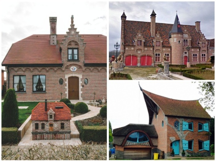 Мечта о сказочной жизни воплощенная в жизнь («Ugly Belgian Houses»). | Фото: travelandleisure.com.