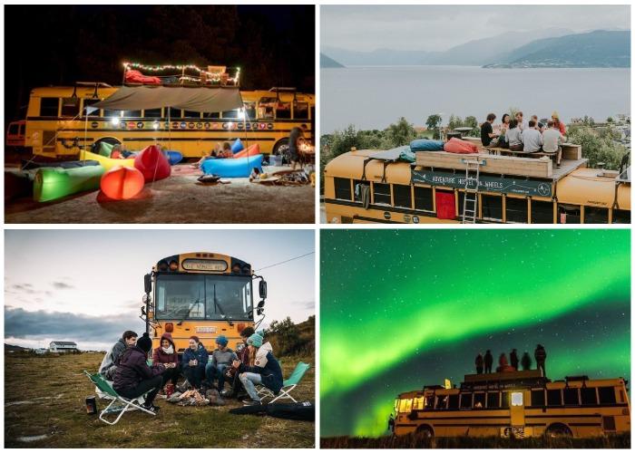 Меньше места, больше свободы и приключений – таков девиз необычного хостела (The Nomads Bus).