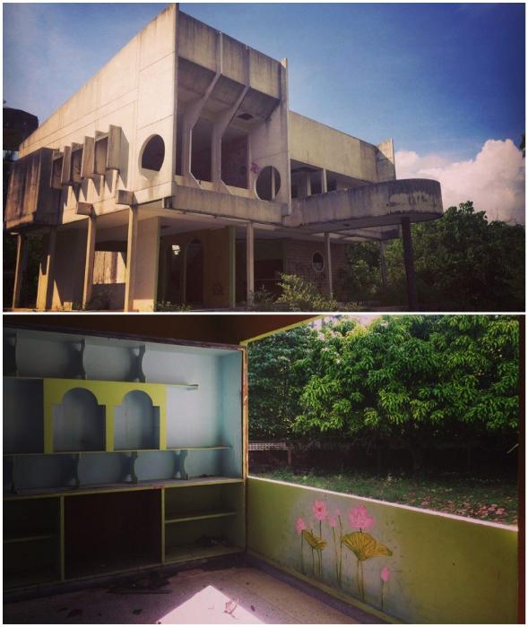 Футуристический особняк тоже остался не у дел (о. Самуи, Таиланд). © Ольга Салий.