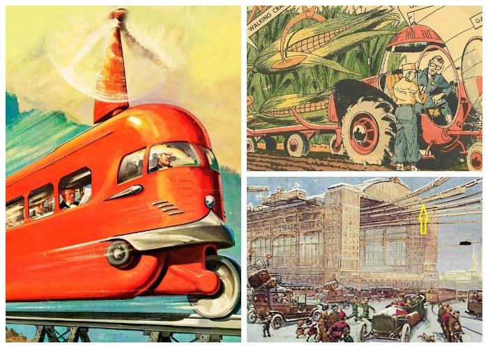 Еще сто лет назад люди мечтали о таком транспорте, а теперь это уже реальность.