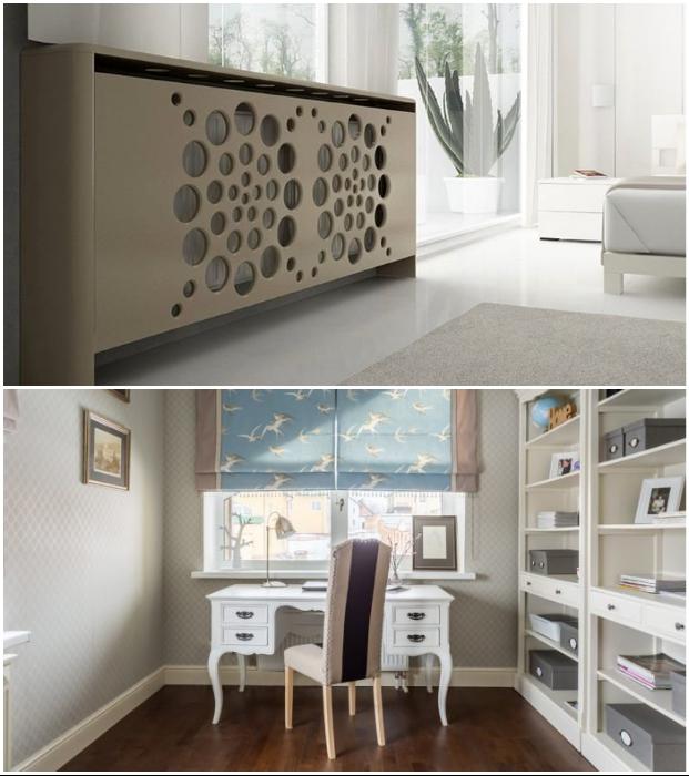 Благодаря широкому разнообразию идей маскировки каждый сможет выбрать оптимальное решение для конкретного помещения.