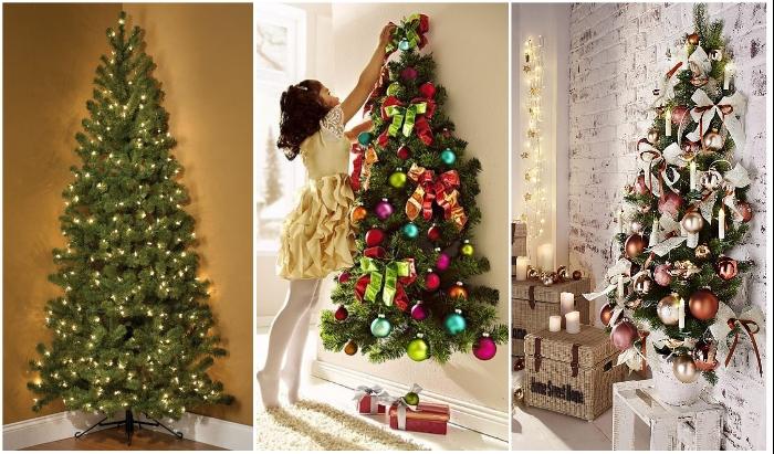 Такие елки украшать будет одно удовольствие, хотя можно и вовсе этого не делать.