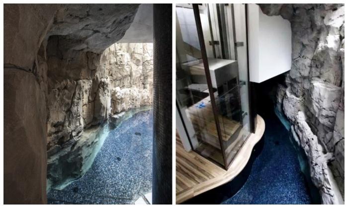Вилла оснащена системой рекуперации и очистной станцией («Villa Troglodyte», Монако). | Фото: 1.farfesh.com.