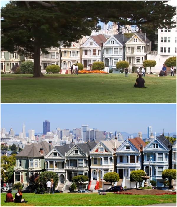 Теперь «Painted Ladies» настоящая достопримечательность(Сан-Франциско). | Фото: youtube.com/ Subscribe Travel & Discover.