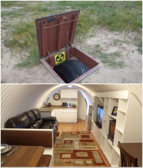 Все больше людей хотят иметь индивидуальные подземные бункеры. | Фото: fishki.net.