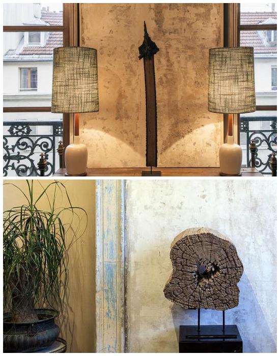 Неординарные детали и винтажные предметы помогли создать абсолютно уникальный интерьер.