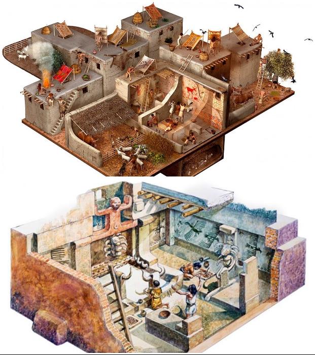 Цифровая визуализация жизни в одном из самых древних поселений планеты.