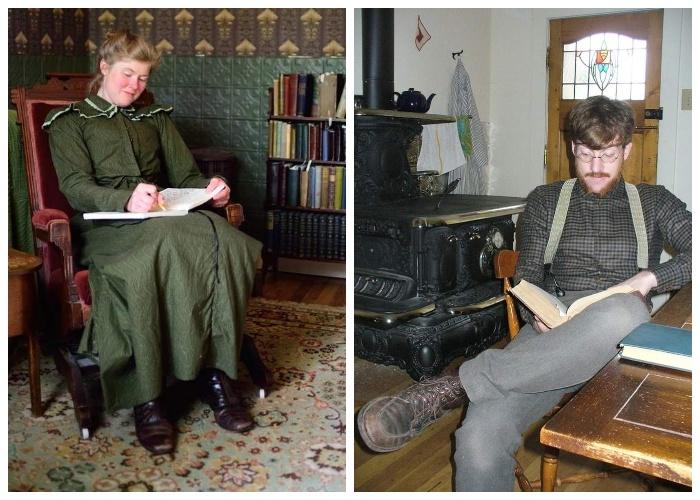 Габриэля и Сару Крисман объединяет любовь к чтению и невероятное увлечение викторианской эпохой.