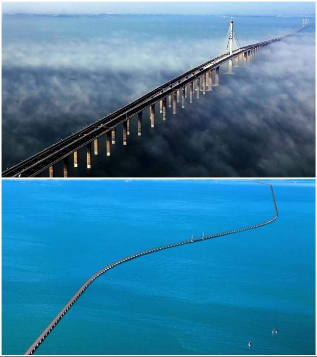 Разработкой трансокеанского Hangzhou Bridge занималось около 700 высококлассных специалистов из разных отраслей (Китай).