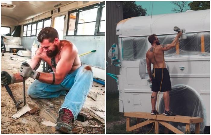Вся тяжелая работа легла на плечи Майкла. | Фото: instagram.com/ sincewewokeup.