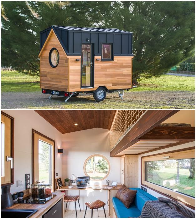 Очаровательный домик Nano Baluchon's от французских дизайнеров является самой маленькой моделью, созданной за последние годы.