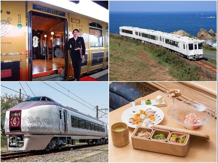 Экскурсионными поездами Япония может гордиться сполна. | Фото: twitter.com.