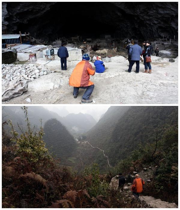 Туристы стали частыми гостями деревни Чжундун (Китай). | Фото: fishki.net.
