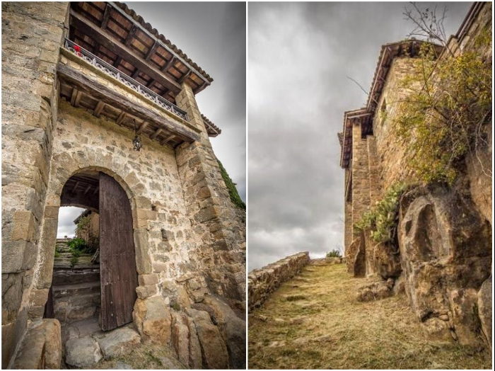 При реконструкции замка, созданного в Х веке, старались оставить все строения в первозданном виде («Castell de Llaes», Испания). | Фото: tripadvisor.es/ es.wikipedia.org.