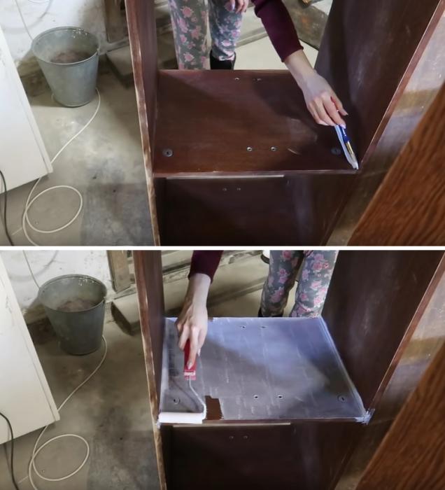 Чтобы уменьшить расход, основной краски и облегчить себе работу грунтовку, нужно выбирать хорошего качества. | Фото: youtube.com/© Bubenitta.