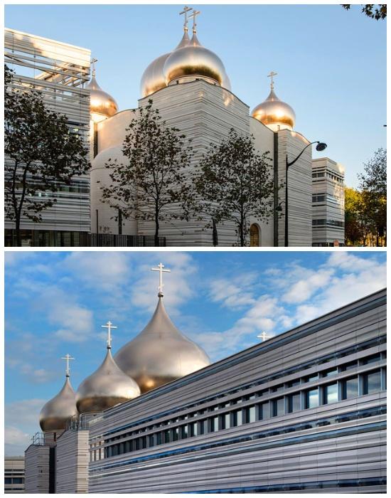 Центром комплекса стала церковь Святой Троицы (Российский духовно-культурный православный центр в Париже). | Фото: lookatme.ru.