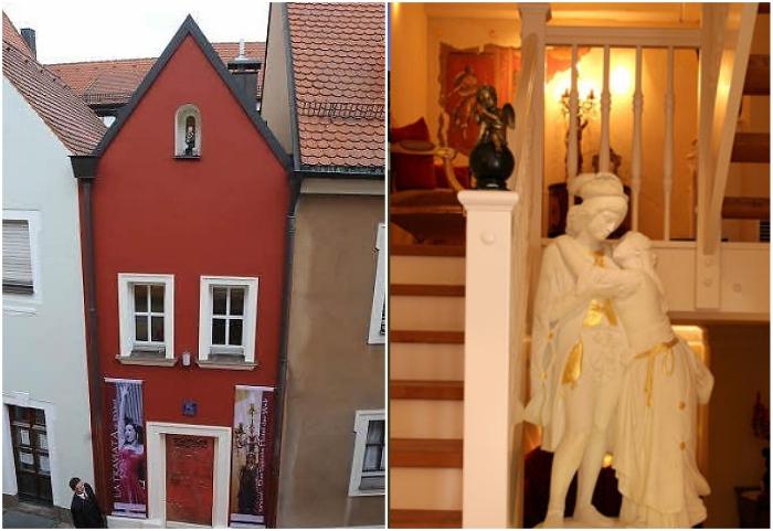 Крошечный отель «Свадебный дом» в Амберге рассчитан на прием лишь одной пары (Германия).   Фото: uniqhotels.com.edu.vn/ sensidelviaggio.it.