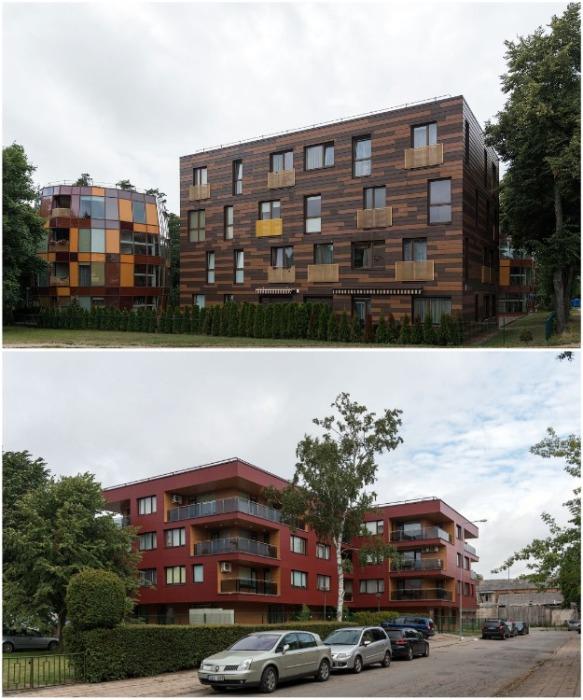 Современные архитекторы и дизайнеры уже совсем по-другому смотрят на эстетику многоэтажных домов. | Фото: varlamov.ru.