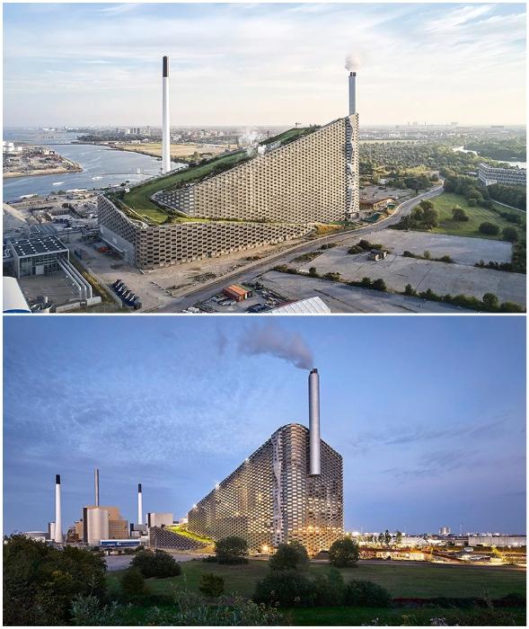 Промышленное предприятие стало настоящим украшением острова Амагер (Amager Bakke, Копенгаген). © Hufton + Crow.