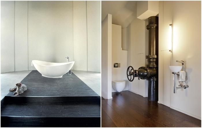 Мало кто может похвастаться такой ванной комнатой (Стееноккерцель, Бельгия). | Фото: casavogue.globo.com.
