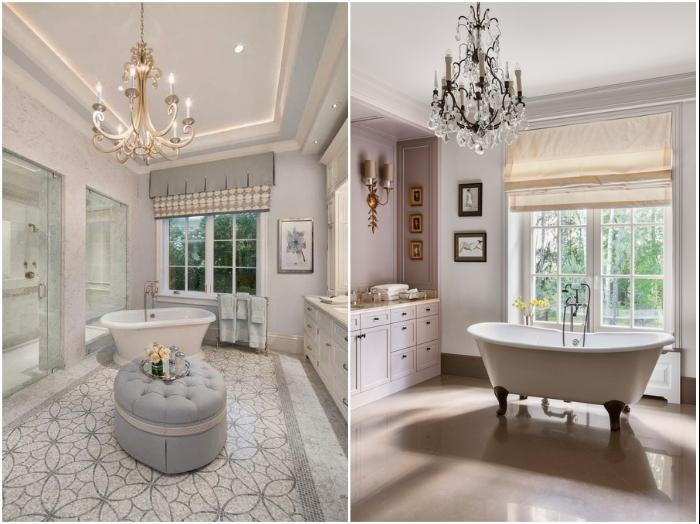 Роскошь может быть и утонченной – без обилия золота, колонн и вычурных канделябров.   Фото: ok-interiordesign.ru/ osveshenie.pro.