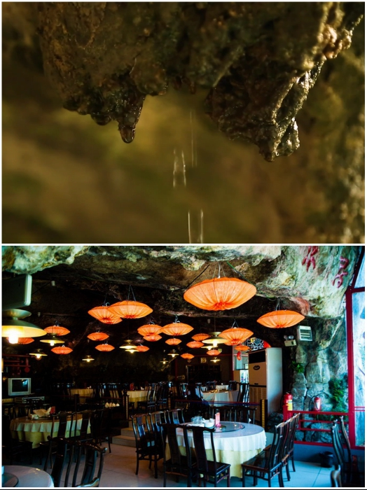 Пещера имеет первозданный вид и главным ее украшением стали очаровательные светильники. | Фото: prohotelia.com/ youtube.com, © dailyWOWvideo.