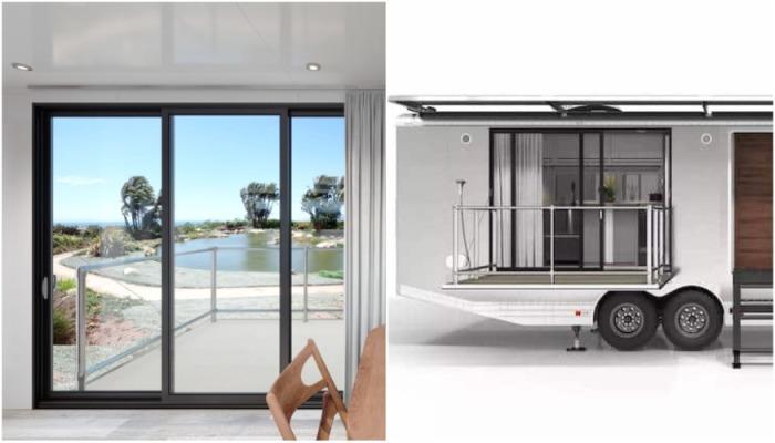 В комплектацию жилых апартаментов входит терраса с навесом, на которой можно организовать зону отдыха и зону барбекю (кемпер LV 2020). | Фото: shorelineareanews.com.