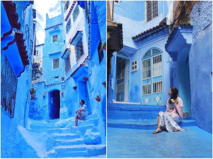 Шефшауэн – экзотический рай для любителей фотосессий (Марокко). | Фото: dymontiger.livejournal.com.